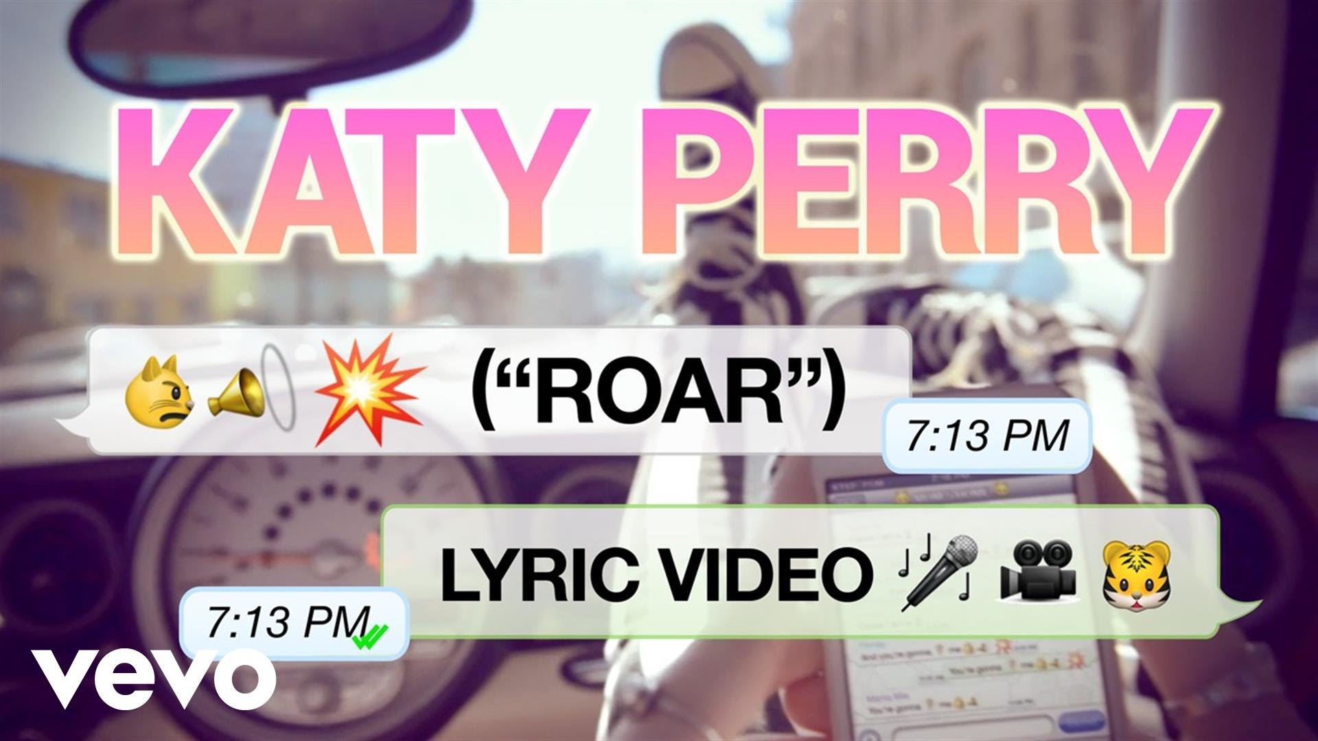 Katy Perry – Roar (Lyric Video)