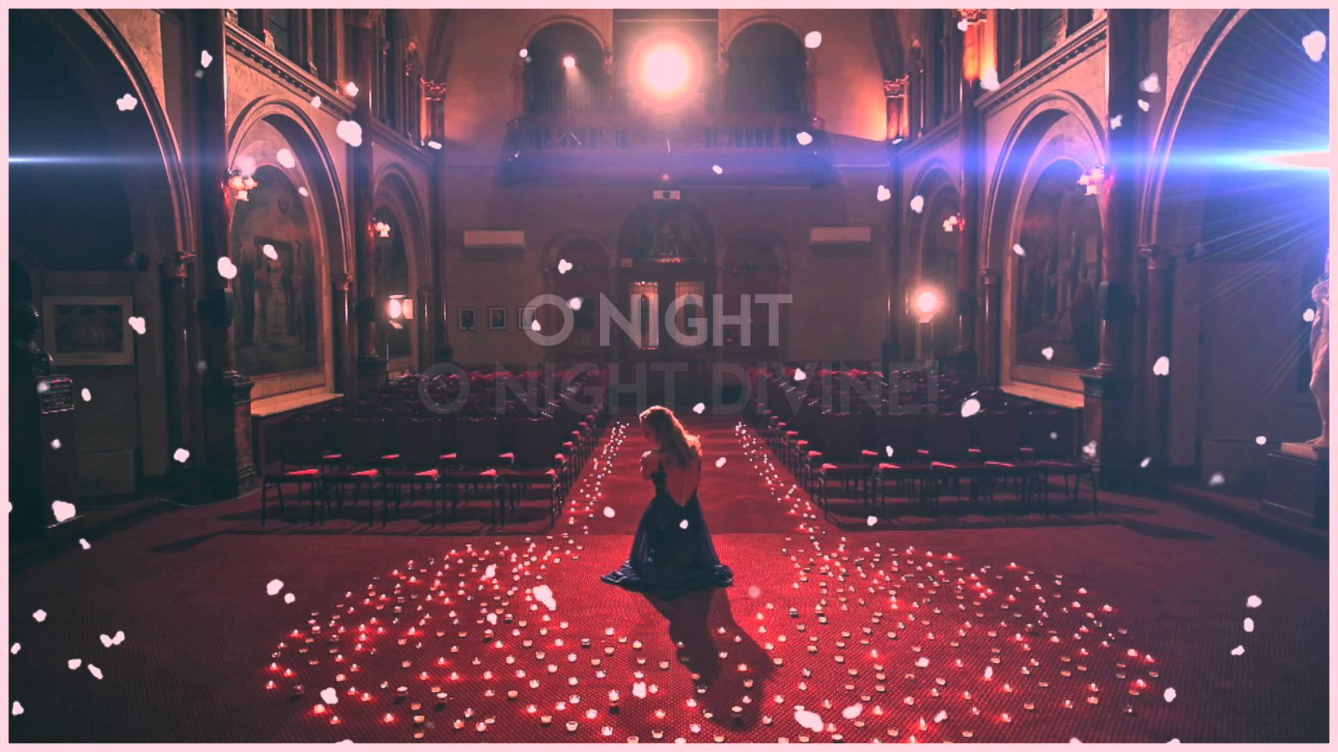 Leah West – O Holy Night (lyric video)