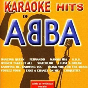 Acheter le DVD Huge Karaoke Hits of Abba