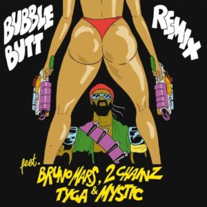 Télécharger le single Bubble Butt (Remix) [feat. Bruno Mars, 2 Chainz, Tyga & Mystic] de Major Lazer