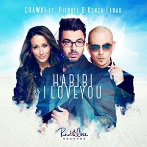 Télécharger le single Habibi I Love You de Chawki ft. Pitbull & Kenza Farah