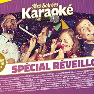 Acheter le Coffret karaoké 10 DVD : Spécial Réveillon (inclus des Goodies)
