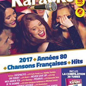 Acheter le Coffret karaoké 4 DVD + 1 CD : 2017 vol 1 + 80 vol 1 + CF vol 1 + Hits vol 2