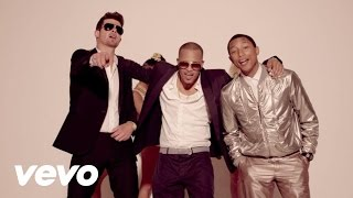 Robin Thicke – Blurred Lines feat. T.I. & Pharrell Williams (clean version)