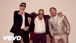 Robin Thicke – Blurred Lines feat. T.I. & Pharrell (version non censurée)