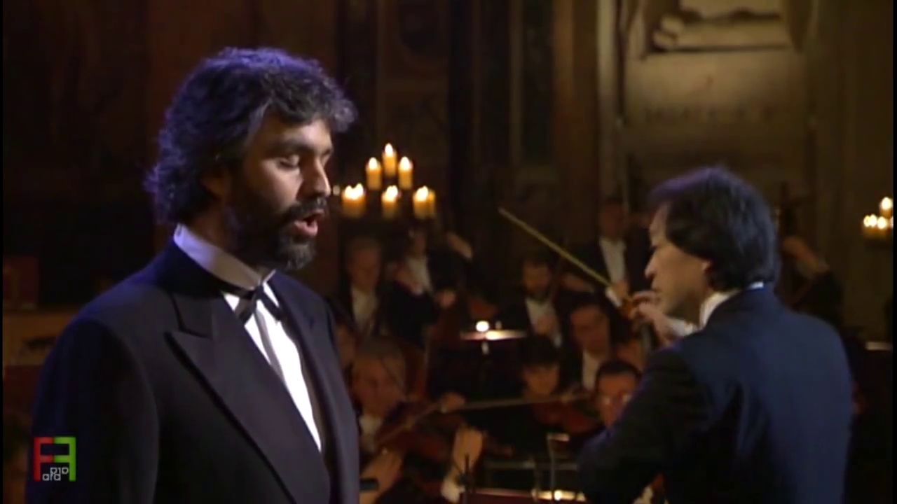 Andrea Bocelli – Ave Maria de Schubert
