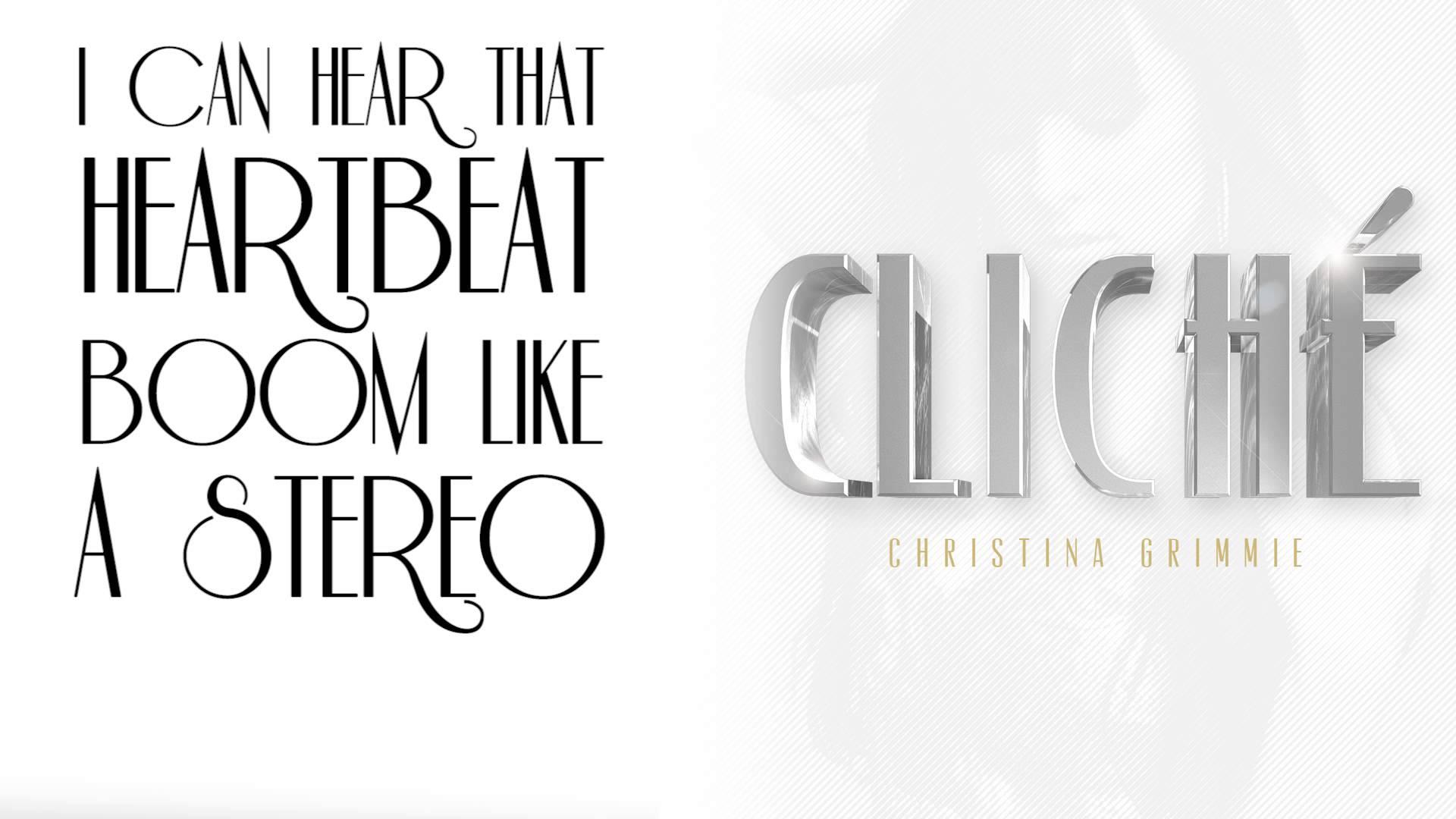 Christina Grimmie – Cliche (Lyric video)