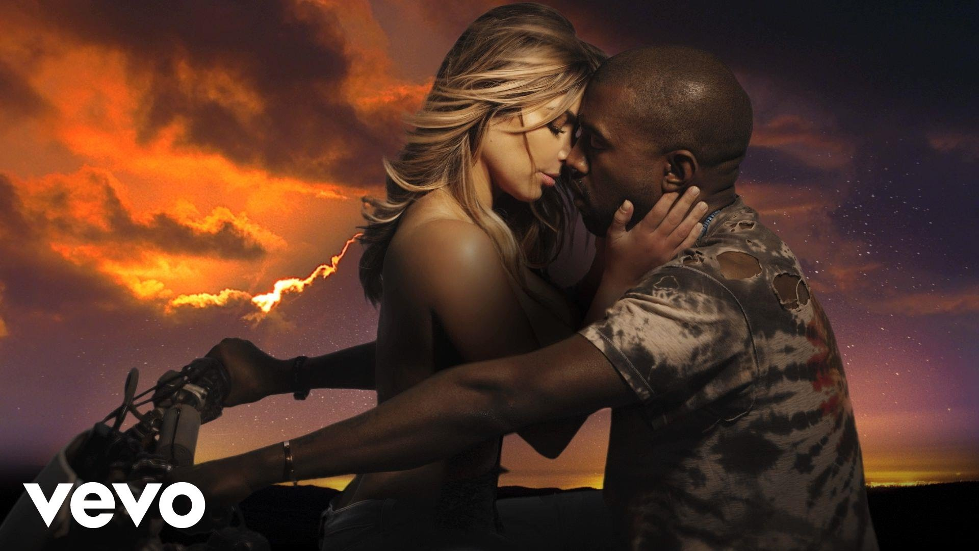 Kanye West & Kim Kardashian – Bound 2 (Explicit)