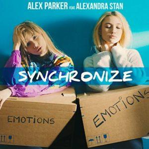 Télécharger le single Synchronize d'Alex Parker feat. Alexandra Stan