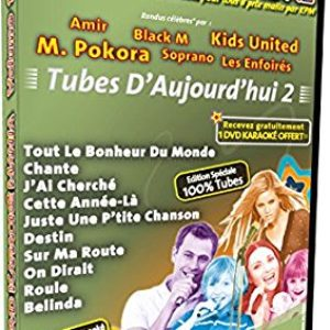 Acheter le DVD Karaoké Mania Vol.12 ''Tubes d'Aujourd'hui 2''