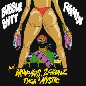 Télécharger le single Bubble Butt (Remix) [feat. Bruno Mars, 2 Chainz, Tyga & Mystic] de Major Lazer