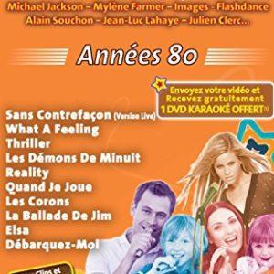 """Acheter le DVD Karaoké Mania Vol.11 """"Années 80"""""""