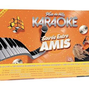 Acheter Plus de hits karaoké : Soirées entre amis - Coffret 5 Dvd + micro