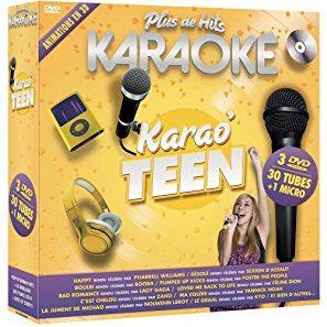 Acheter Plus de hits karaoké : karao' teen - coffret 3 DVD + micro
