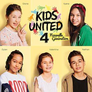 Télécharger l'album Au bout de nos rêves deKids United nouvelle génération