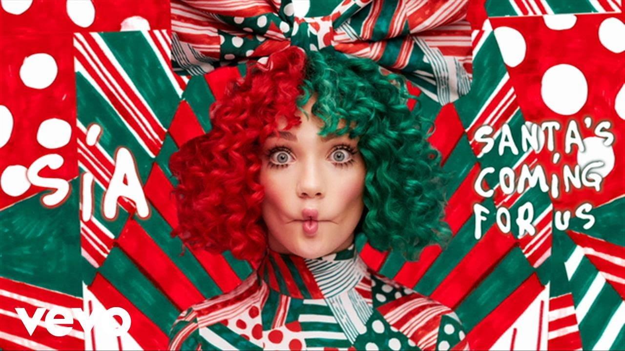 Sia – Santa's Coming For Us (clip audio et paroles)